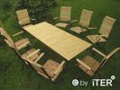Biergartenmöbel Holz Metall